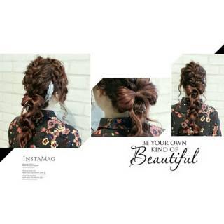 ヘアアレンジ 春 外国人風 ストリート ヘアスタイルや髪型の写真・画像