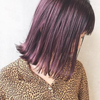 ミディアム 外国人風 ガーリー ボブ ヘアスタイルや髪型の写真・画像