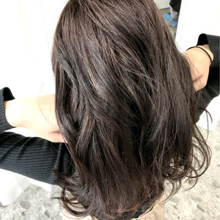 ロング 簡単ヘアアレンジ ヘアアレンジ パーマ ヘアスタイルや髪型の写真・画像