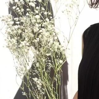 外国人風カラー モード ロング セルフヘアアレンジ ヘアスタイルや髪型の写真・画像