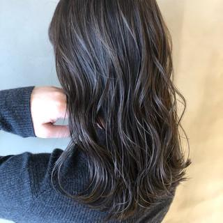 ロング 外国人風カラー デート エレガント ヘアスタイルや髪型の写真・画像