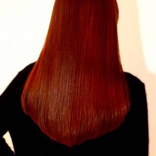 艶髪 大人かわいい ロング ナチュラル ヘアスタイルや髪型の写真・画像