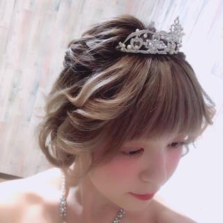 エレガント 上品 ヘアアレンジ 結婚式 ヘアスタイルや髪型の写真・画像 ヘアスタイルや髪型の写真・画像