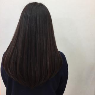 ブラウン 暗髪 ロング グラデーションカラー ヘアスタイルや髪型の写真・画像 ヘアスタイルや髪型の写真・画像