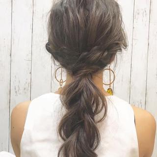 ロング フェミニン 二次会 二次会ヘア ヘアスタイルや髪型の写真・画像