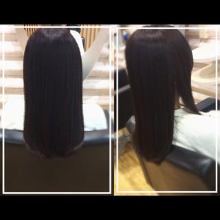 トリートメント ナチュラル ストレート ロング ヘアスタイルや髪型の写真・画像 ヘアスタイルや髪型の写真・画像