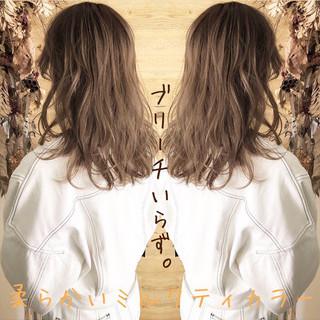 外国人風カラー ナチュラル 外国人風フェミニン 外国人風 ヘアスタイルや髪型の写真・画像