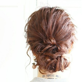 エレガント 結婚式 ショート ゆるふわ ヘアスタイルや髪型の写真・画像