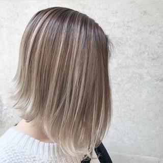 ストリート グラデーションカラー ボブ 外国人風カラー ヘアスタイルや髪型の写真・画像 ヘアスタイルや髪型の写真・画像