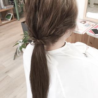 ロング ショート ヘアアレンジ おフェロ ヘアスタイルや髪型の写真・画像