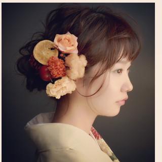 大人女子 ヘアアレンジ 冬 簡単ヘアアレンジ ヘアスタイルや髪型の写真・画像 ヘアスタイルや髪型の写真・画像