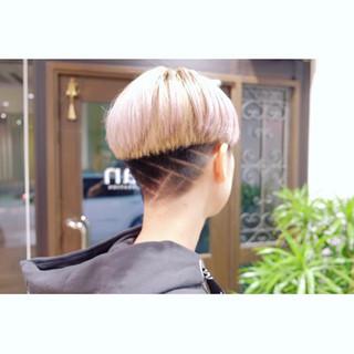 ショート デザイン 刈り上げ女子 刈り上げショート ヘアスタイルや髪型の写真・画像