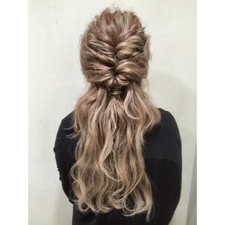 外国人風 ロング 春 大人かわいい ヘアスタイルや髪型の写真・画像
