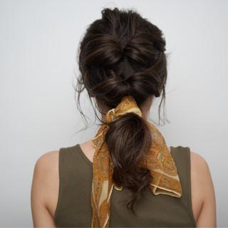 ハイライト オーガニックカラー グレージュ ロング ヘアスタイルや髪型の写真・画像 ヘアスタイルや髪型の写真・画像