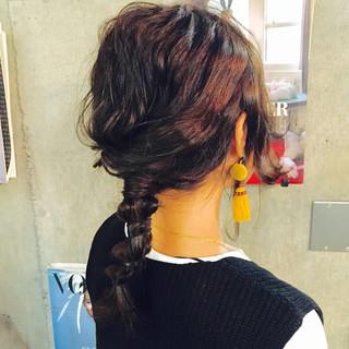 ショート ゆるふわ フェミニン 簡単ヘアアレンジ ヘアスタイルや髪型の写真・画像