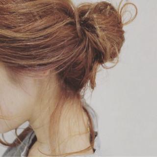 夏 ヘアアレンジ ゆるふわ 大人かわいい ヘアスタイルや髪型の写真・画像