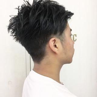 ストリート ショート マッシュ 刈り上げ ヘアスタイルや髪型の写真・画像 ヘアスタイルや髪型の写真・画像