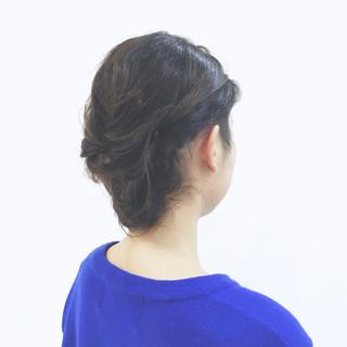 大人かわいい ショート ロープ編み ボブ ヘアスタイルや髪型の写真・画像 ヘアスタイルや髪型の写真・画像