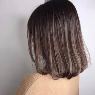 ナチュラル ボブヘアー デート ベージュ ヘアスタイルや髪型の写真・画像