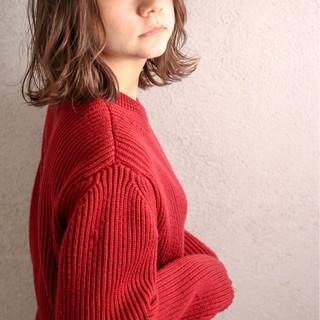 ミディアム ボブ 外国人風 グラデーションカラー ヘアスタイルや髪型の写真・画像