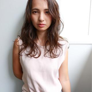 大人女子 こなれ感 暗髪 大人かわいい ヘアスタイルや髪型の写真・画像
