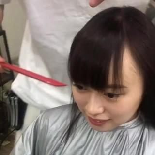 外国人風 ミディアム 抜け感 前髪あり ヘアスタイルや髪型の写真・画像