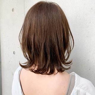 外ハネボブ 大人可愛い ナチュラル ゆるふわパーマ ヘアスタイルや髪型の写真・画像