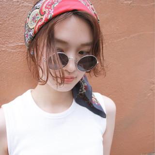 ストリート 簡単 ボブ パーマ ヘアスタイルや髪型の写真・画像 ヘアスタイルや髪型の写真・画像