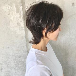ウルフカット ショート ベリーショート モード ヘアスタイルや髪型の写真・画像