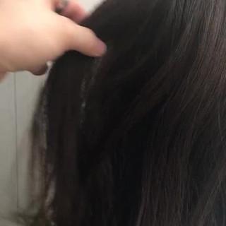 ブラウンベージュ コンサバ ウェーブ ゆるふわ ヘアスタイルや髪型の写真・画像
