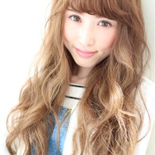ピュア 前髪あり 大人かわいい ストリート ヘアスタイルや髪型の写真・画像