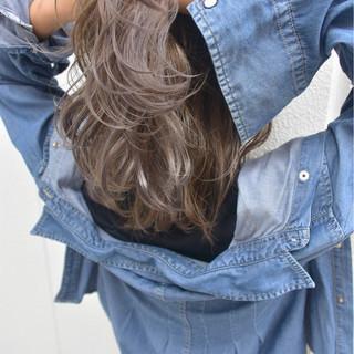 ハイライト ブルージュ 外国人風 ストリート ヘアスタイルや髪型の写真・画像