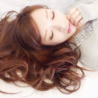 大人かわいい フェミニン モテ髪 ロング ヘアスタイルや髪型の写真・画像