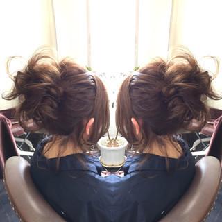 デート セミロング かわいい フェミニン ヘアスタイルや髪型の写真・画像