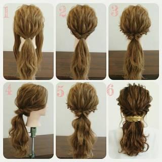 フェミニン 愛され 大人かわいい モテ髪 ヘアスタイルや髪型の写真・画像