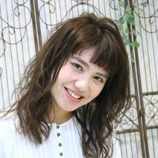 大人かわいい 透明感 ゆるふわ 外国人風 ヘアスタイルや髪型の写真・画像