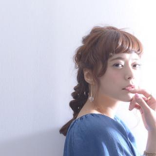 アッシュ 外国人風 ブラウン ゆるふわ ヘアスタイルや髪型の写真・画像