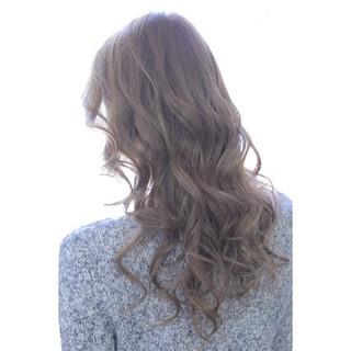 エレガント ハーフアップ 色気 セミロング ヘアスタイルや髪型の写真・画像