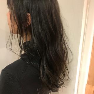 外国人風 冬 デート 大人かわいい ヘアスタイルや髪型の写真・画像