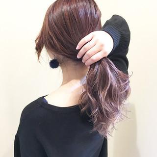 外国人風カラー フェミニン 透明感 モテ髪 ヘアスタイルや髪型の写真・画像