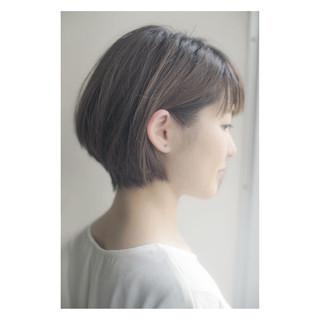 ナチュラル ショート 色気 ヘアスタイルや髪型の写真・画像
