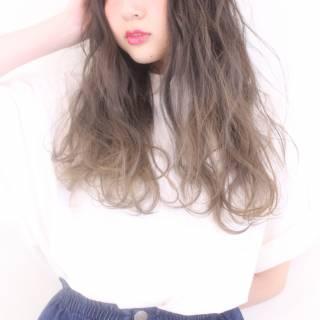 グラデーションカラー 愛され モテ髪 コンサバ ヘアスタイルや髪型の写真・画像