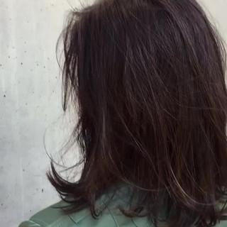 ナチュラル 冬 透明感 オフィス ヘアスタイルや髪型の写真・画像