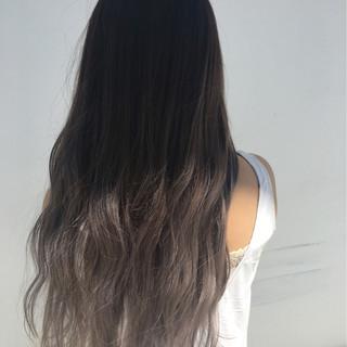 外国人風 グラデーションカラー ストリート 冬 ヘアスタイルや髪型の写真・画像 ヘアスタイルや髪型の写真・画像