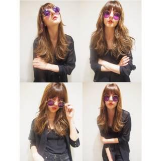 ロング パンク 外国人風 ストリート ヘアスタイルや髪型の写真・画像