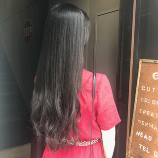 黒髪 ヘアアレンジ ナチュラル ボリュームダウン ヘアスタイルや髪型の写真・画像