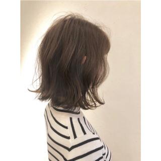 ナチュラル 大人女子 こなれ感 ボブ ヘアスタイルや髪型の写真・画像