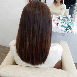 ストカール 白髪染め ナチュラル 縮毛矯正名古屋市 ヘアスタイルや髪型の写真・画像