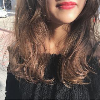 セミロング ヘアアレンジ デート ハロウィン ヘアスタイルや髪型の写真・画像