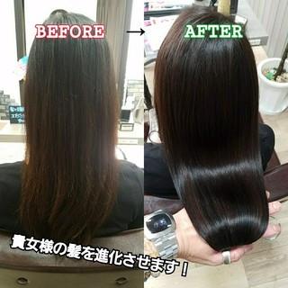 艶髪 髪の病院 ロング トリートメント ヘアスタイルや髪型の写真・画像